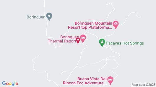 Borinquen Mountain Resort & Spa Map