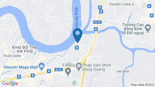 Mia SaiGon Luxury Boutique Hotel Map