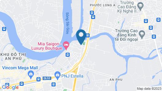RedDoorz near Vincom Thao Dien Map