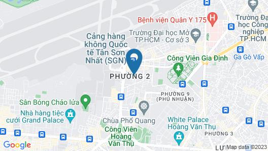 Golden View Hotel Saigon Map