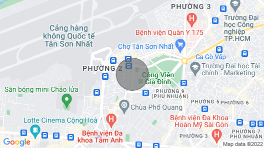 6S Apartment -  2 bedrooms - very near Airport Map