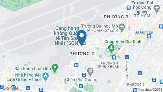 ibis Saigon Airport Map