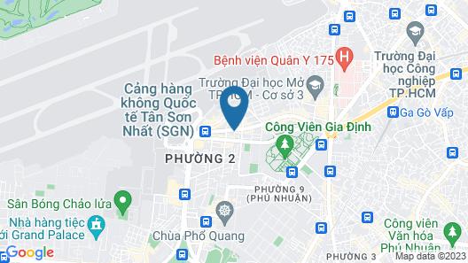 RedDoorz Plus near Tan Son Nhat Airport 3 Map