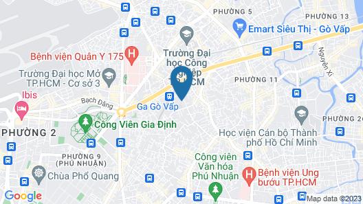 Saigon Garden Hill Apartment & Resort Map