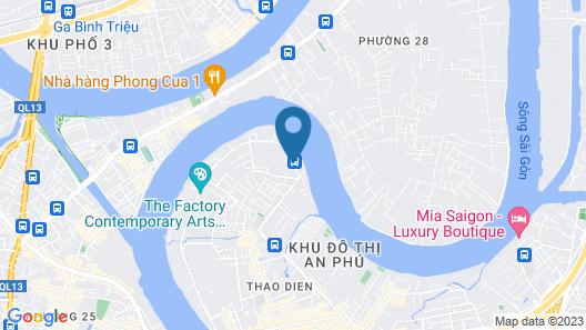 Villa Song Saigon Map