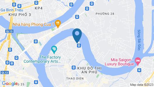Thao Dien Boutique Hotel Map