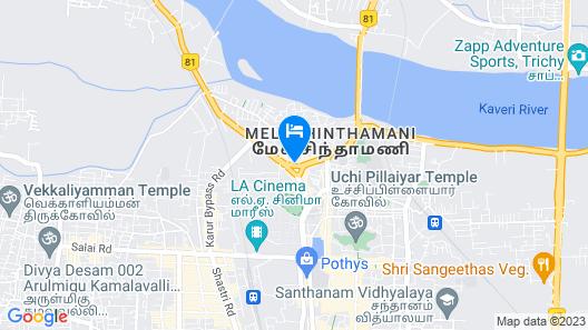 Vivid A Boutique Hotel Map