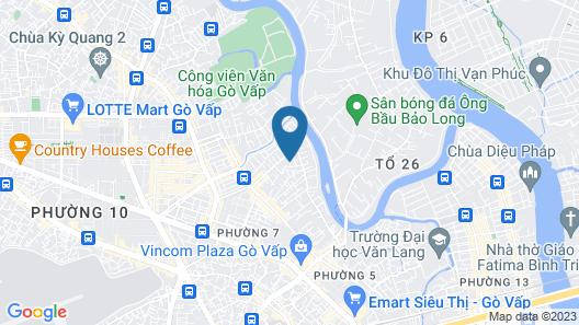 RedDoorz near Vincom Go Vap Map