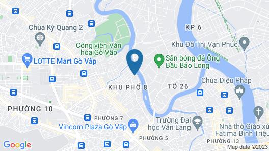 The Sun Hotel Map
