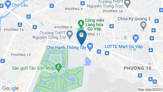 Luxury Hotel Map
