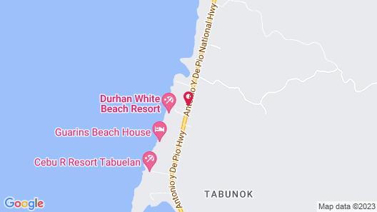 Cebu R Resort Tabuelan Map