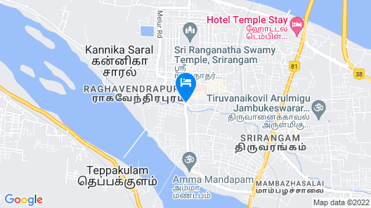 KVM Hotels Map