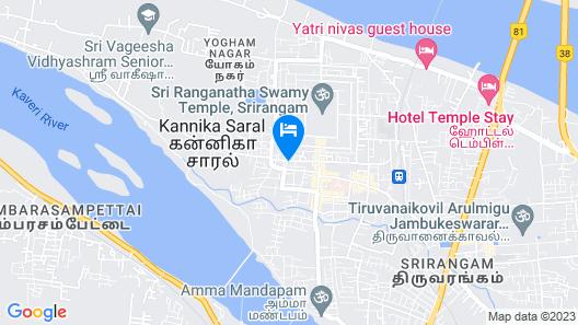 Jyothi Suites Map