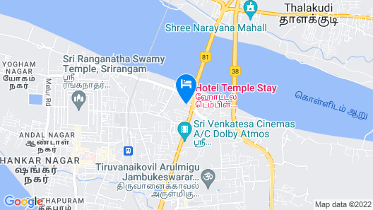 Hotel Temple Stay Map