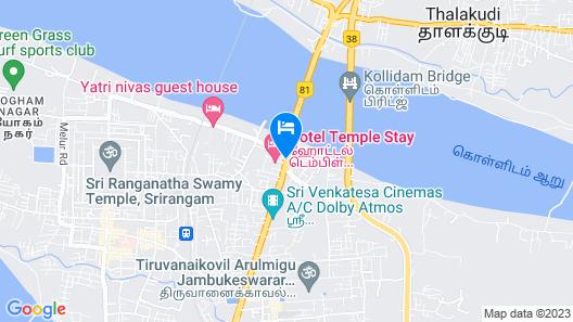 OYO 15948 Hotel Srees Map