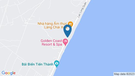 Villa Del Sol Beach resort & Spa Map