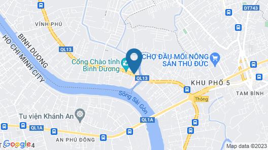 Hoang Yen Hotel Map