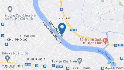 An Lam Retreats Saigon River Map