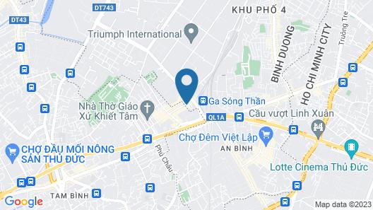 Ha Nguyen Hotel Map