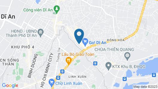 Cuc Phuong Hotel Map