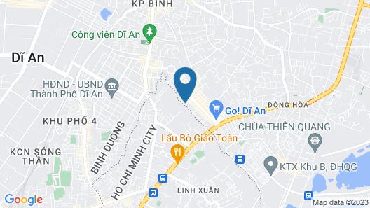 Hoang Anh Hotel Map
