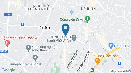 Hoang Hung Hotel Map