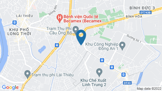 Hoa Anh Dao 2 Hotel Map