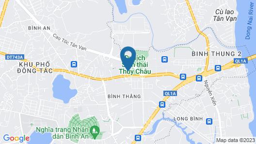 Hoang Vy Hotel Map