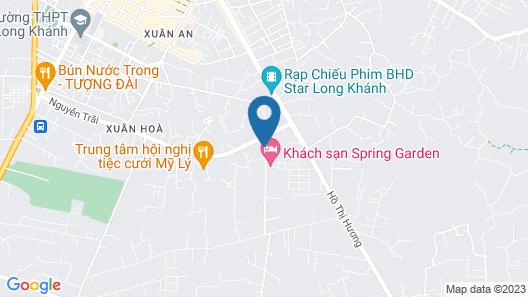 Spring Garden Hotel Map