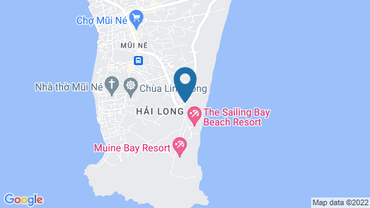 Hoang Sang Homestay Map