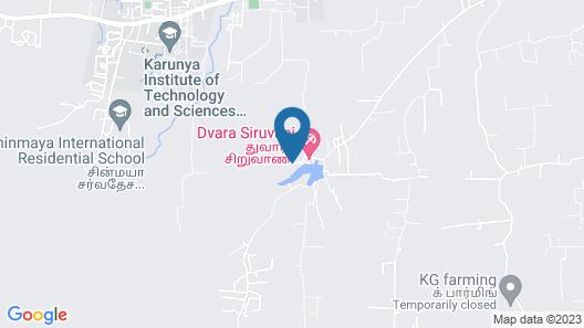 Dvara Siruvani Map