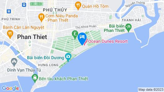 Phan Thiet Ocean Dunes Resort Map