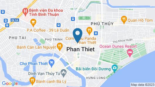 kim ngan thao hotel Map