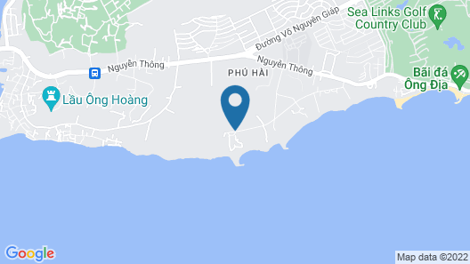 Romana Resort & Spa Map