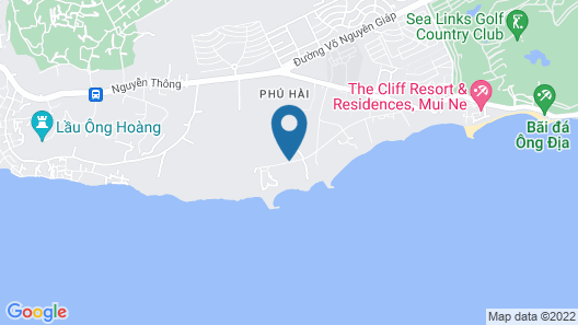 The Cliff Resort & Residences Map