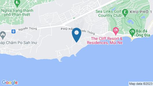 Phu Hai Resort Map