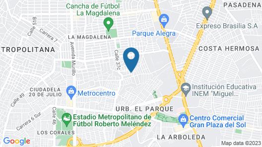 Apartamento Barranquilla Galan Map