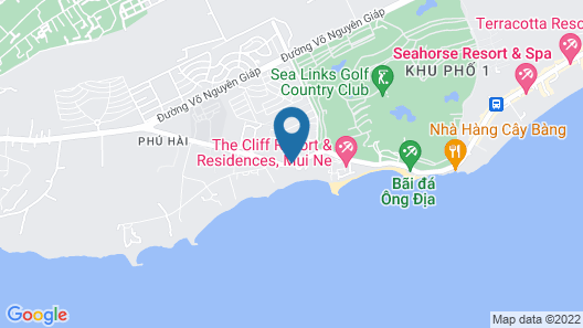 Victoria Phan Thiet Beach Resort & Spa Map