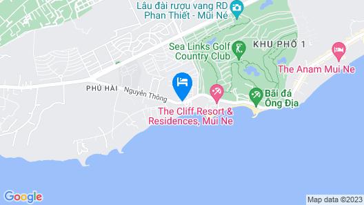 Victoria Phan Thiet Beach Resort & Spa Map
