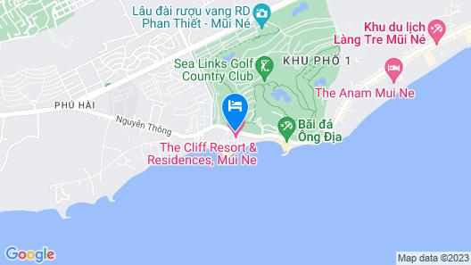 Mui Ne Luxury Beach Villas Map