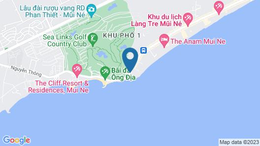 Ca Ty Mui Ne Resort Map