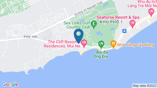 Villa Panda at Sea Links Golf Resort Map