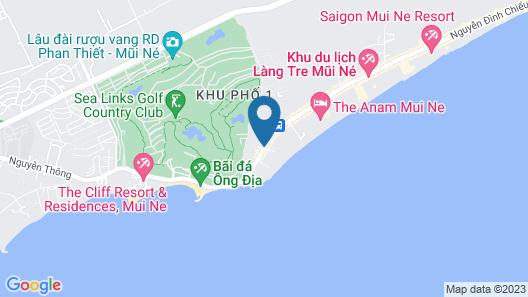 Dessole Beach Resort Muine Map