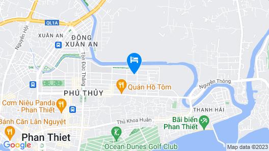Hotel Mai Dung Map
