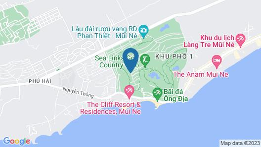 Sealink Villas Phan Thiet  Mui Ne Map