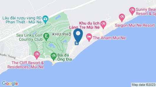 Anantara Mui Ne Resort Map
