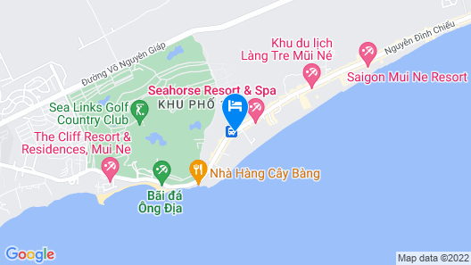 Anantara Mui Ne Resort Map
