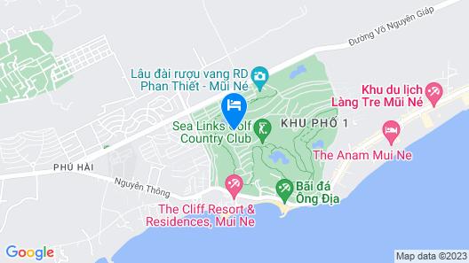 Sea Links Beach Hotel Map