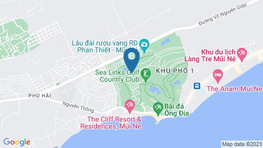 Ocean Vista Map
