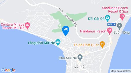 Cu Ba House - Homestay Mui Ne Map